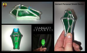Stargate Prop Ancient Shield Device by Euderion