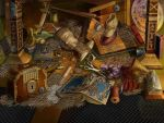 Hidden Object scene 01 by novtilus