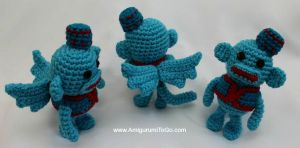 Flying Sock Monkey Free Pattern by sojala