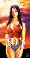 Wonder Woman: Sunset by ROCINATE