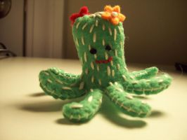 Cactus + Octopus is Cactupus by mrwubbie