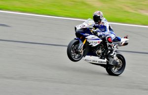 Melandri's  Wheelie by waggysue