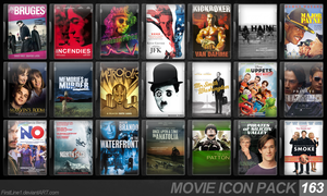 Movie Icon Pack 163 by FirstLine1