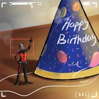Happy Birthday - Antman by xxiiCoko