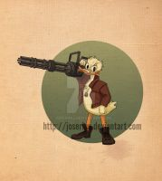Disney Army: Donald Duck by Joserinu