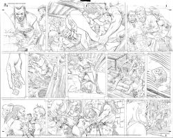Mike Hawthorne pencils 01 by BlipMartindale
