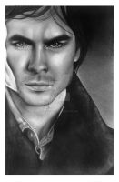 Ian Somerhalder by LackadaisicalCat