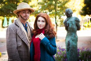 Painter and Muse - Amy and Vincent by HelenaTears