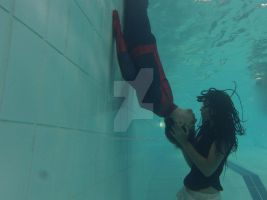 PROJECT UNDERWATER SUPERHERO: Spider-Man Kiss by CyanideSyrup