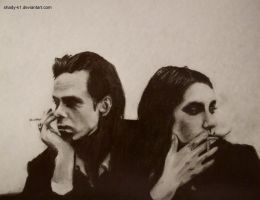 nick cave and pj harvey by shady-k1