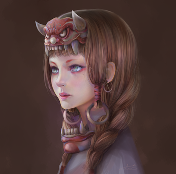 Oni by aionlights