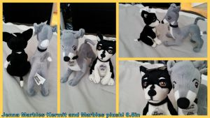 Jenna Marbles Kermit and Marbles Plush by Vesperwolfy87