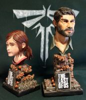 Ellie and Joel The Last of us. by Leebea