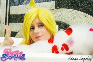 In the tub with Panty! PSWG by adami-langley