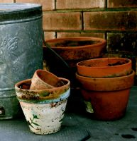Clay Pots by GoingSane