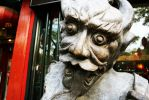 Ghost on Ghost Street Beijing China by davidmcb
