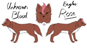 Unknown Blood - Rose Reference by fluffylovey