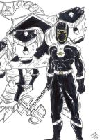 Black Ranger Pluto by JohntheSilver