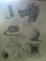 Sketch doodles by Swiftstone