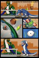COM : Taylor and Aralayle Comic by whiteguardian