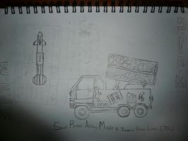 SPAM MISSILE LAUNCHER TRUCK by victortky