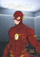 Toni Gutierrez Art The flash by Lion542
