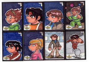 Voltron Sketch Cards 5 of 7 by TerryTibke