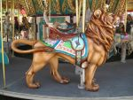 Carousel -Lion1 by rachellafranchistock