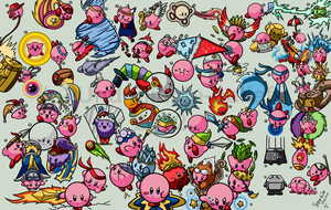 EVERY. SINGLE. KIRBY. EVER. by Undeniable-beliefs