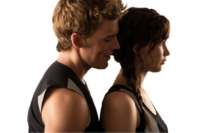 Finnick and Katniss - Catching fire PNG by PaulaML
