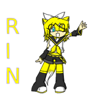 .RIN-CHAN LE FOX. by shadowiscool123