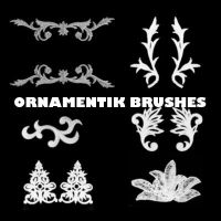 Ornamental Brushes by X-netic
