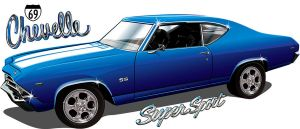 69 Chevelle SS by rjonesdesign