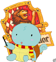 Harry Potter Squirtle :3 by XxYYHLoverxX
