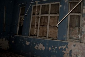 Broken Down Room ( Brunswick School ) by samtheartman