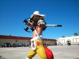 Usopp TimeSkip One Piece by Moskita