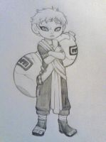 Gaara by QuackingMoron