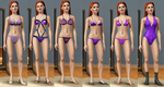 sims 3 Giselle Outfits by Dinalfos5