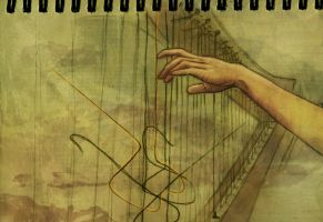 Harp by Samuel-Hardidge
