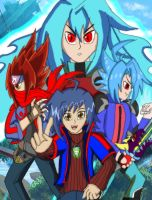 Yukito And His Gods From by brunolin