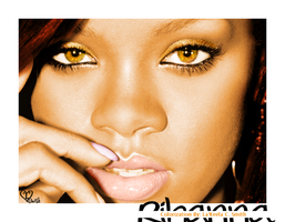 Rihanna Colorization 2 by lakeela