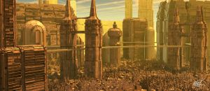 Future Ancient City by maxq3d