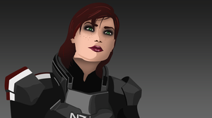 Commander Shepard Vector by taylderp