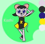 Kashi The Mouse by RoninHunt0987