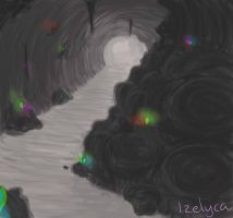 Cave doodle by Izelyca