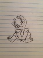 Baby Luca sketch - 9/2/12 by Jestloo