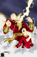 SHAZAM!!!! by Blackmoonrose13