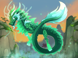 Warcraft Yu`lon The Jade Serpent by Niniel-Gnoll
