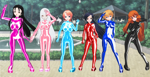 Knight Carnival Bodysuits 2 by quamp
