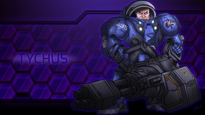 Tychus by Leto4rt
